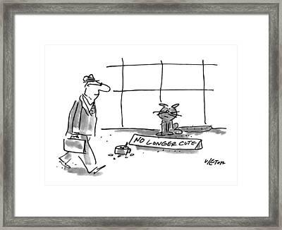 New Yorker April 19th, 1993 Framed Print by Dean Vietor