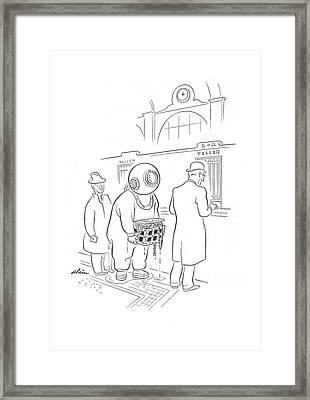 New Yorker April 20th, 1940 Framed Print