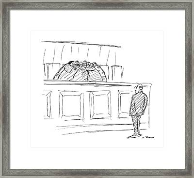 New Yorker April 20th, 1987 Framed Print by Al Ross