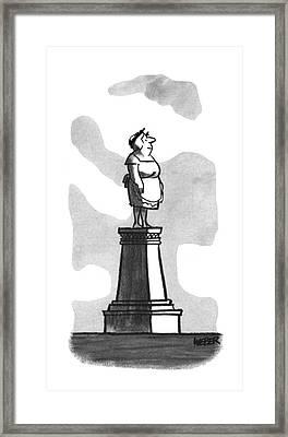 New Yorker April 22nd, 1967 Framed Print by Robert Weber