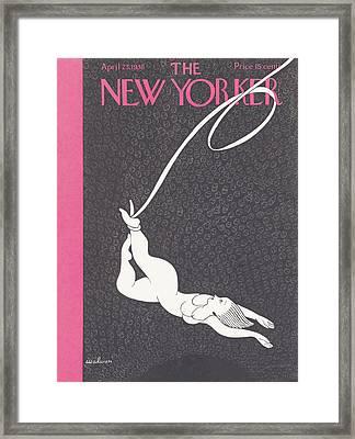 New Yorker April 23rd, 1938 Framed Print by Christina Malman