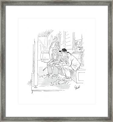 New Yorker April 24th, 1943 Framed Print by Kemp Starrett