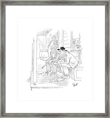 New Yorker April 24th, 1943 Framed Print