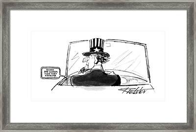 New Yorker April 24th, 1995 Framed Print
