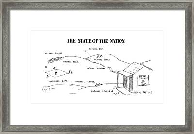 New Yorker April 25th, 1988 Framed Print by Simon Bond