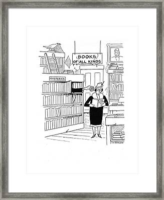 New Yorker April 26th, 1941 Framed Print by Otto Soglow
