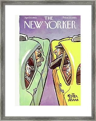 New Yorker April 27th, 1963 Framed Print