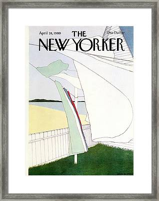 New Yorker April 28th, 1980 Framed Print by Gretchen Dow Simpson