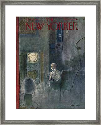 New Yorker April 29th, 1950 Framed Print