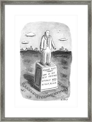 New Yorker April 29th, 1996 Framed Print by Roz Chast