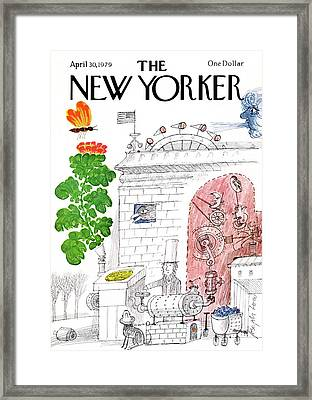 New Yorker April 30th, 1979 Framed Print
