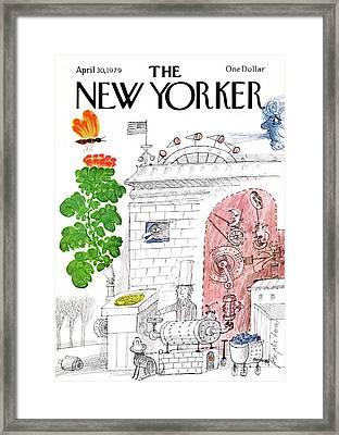 New Yorker April 30th, 1979 Framed Print