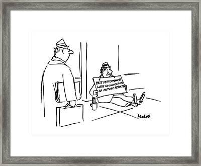 New Yorker April 30th, 1990 Framed Print