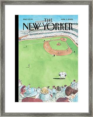 New Yorker April 3rd, 2006 Framed Print by Barry Blitt