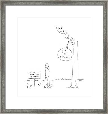 New Yorker April 3rd, 2017 Framed Print