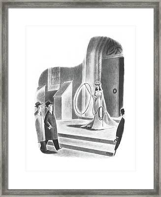 New Yorker April 6th, 1940 Framed Print