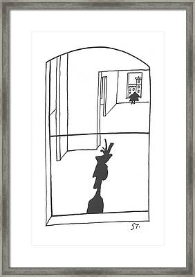 New Yorker April 6th, 1957 Framed Print
