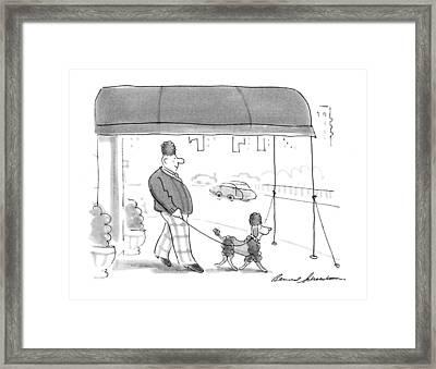 New Yorker April 6th, 1992 Framed Print
