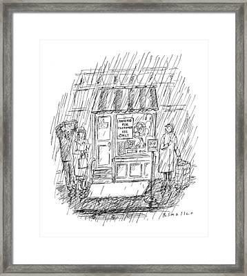 New Yorker April 6th, 1998 Framed Print