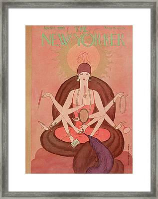 New Yorker April 7th, 1928 Framed Print