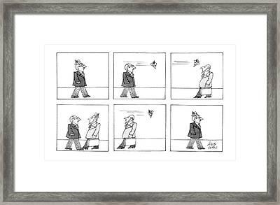 New Yorker April 7th, 1986 Framed Print by Joseph Farris