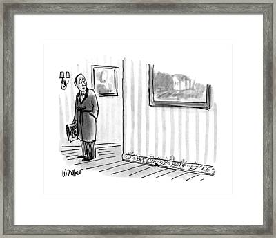 New Yorker April 8th, 1991 Framed Print