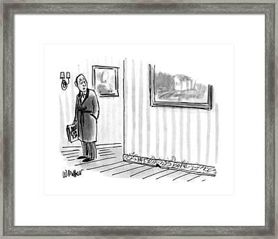 New Yorker April 8th, 1991 Framed Print by Warren Miller