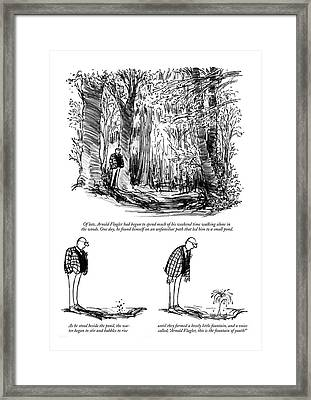 New Yorker August 10th, 1968 Framed Print