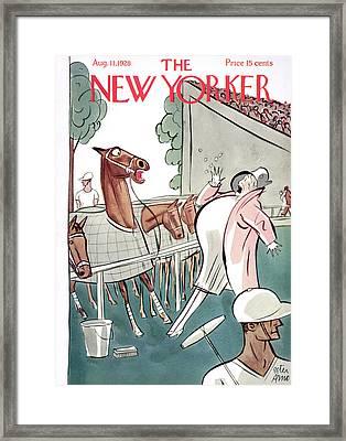 New Yorker August 11th, 1928 Framed Print