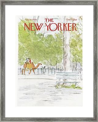 New Yorker August 13th, 1979 Framed Print