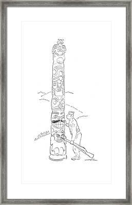 New Yorker August 15th, 1942 Framed Print by Garrett Price