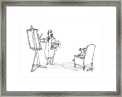 New Yorker August 15th, 1988 Framed Print by William Steig