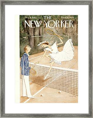 New Yorker August 16th, 1941 Framed Print