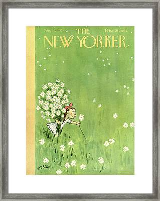 New Yorker August 16th, 1952 Framed Print