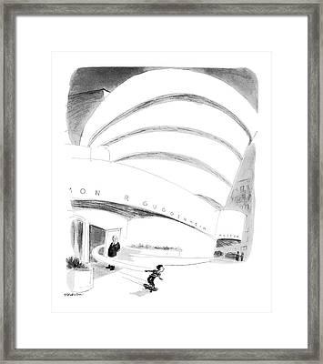 New Yorker August 16th, 1976 Framed Print by James Stevenson