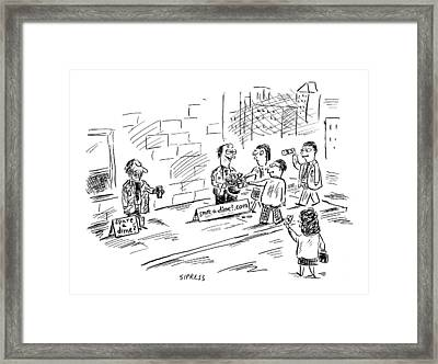 New Yorker August 16th, 1999 Framed Print by David Sipress