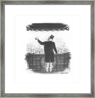 New Yorker August 17th, 1940 Framed Print by Leonard Dove