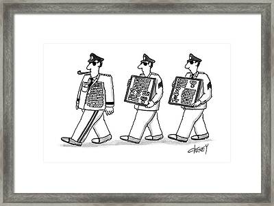 New Yorker August 17th, 1987 Framed Print by Tom Cheney