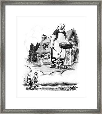 New Yorker August 17th, 1987 Framed Print by Warren Miller