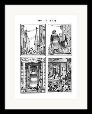 Morphed Drawings Framed Prints