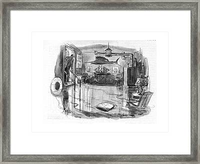 New Yorker August 19th, 1944 Framed Print by Perry Barlow