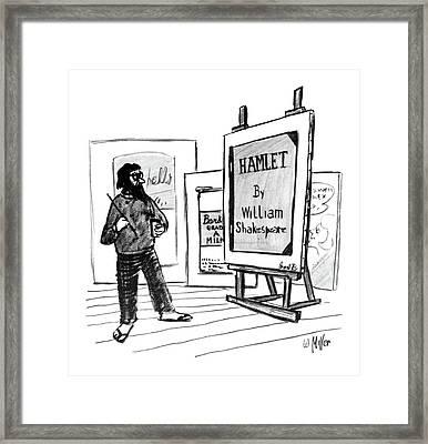 New Yorker August 1st, 1964 Framed Print by Warren Miller