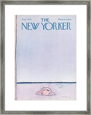 New Yorker August 1st, 1970 Framed Print