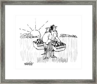 New Yorker August 1st, 1988 Framed Print by Mischa Richter
