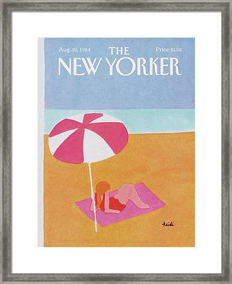 New Yorker August 20th, 1984 Framed Print by Heidi Goennel