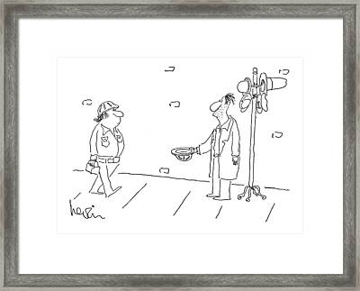 New Yorker August 21st, 1978 Framed Print by Arnie Levin