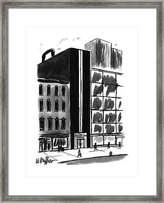 New Yorker August 21st, 1995 Framed Print by Warren Miller