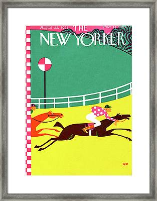New Yorker August 22nd, 1925 Framed Print by A.E. Wilson