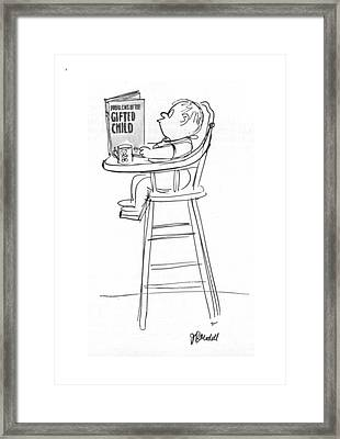 New Yorker August 22nd, 1964 Framed Print by Frank Modell