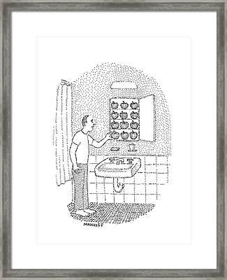 New Yorker August 22nd, 1977 Framed Print